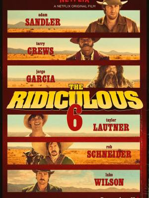 sortie dvd	  The Ridiculous 6