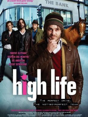 Jaquette dvd High Life