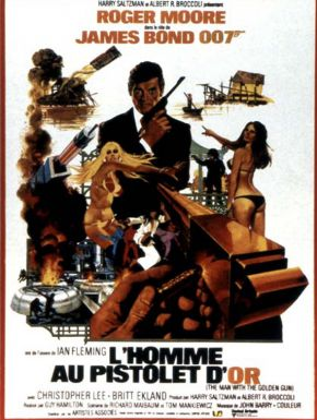 Jaquette dvd L'Homme Au Pistolet D'or