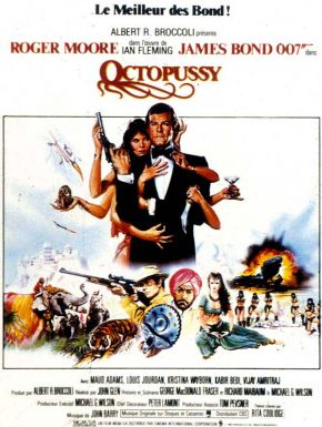 Octopussy DVD et Blu-Ray