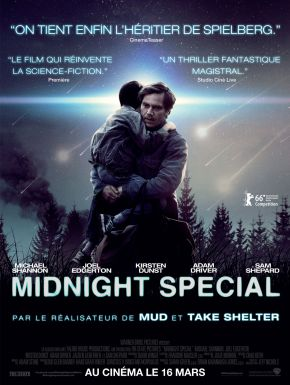 Midnight Special DVD et Blu-Ray