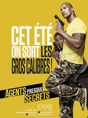 Jaquette dvd Agents Presque Secrets