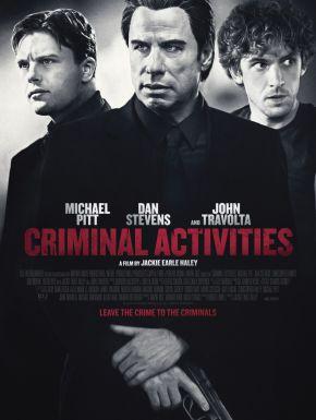 Jaquette dvd Criminal Activities