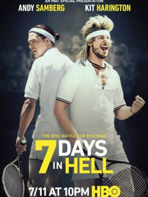 Jaquette dvd 7 Days In Hell