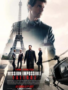 Jaquette dvd Mission: Impossible - Fallout