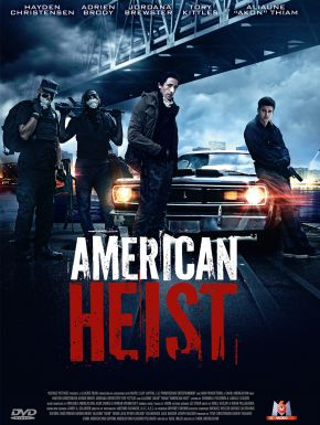 Jaquette dvd American Heist
