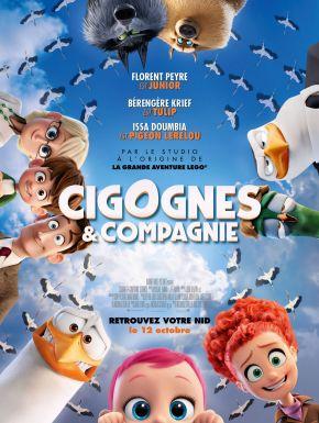 Jaquette dvd Cigognes Et Cie