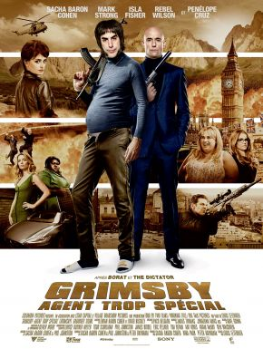 DVD Grimsby - Agent Trop Spécial