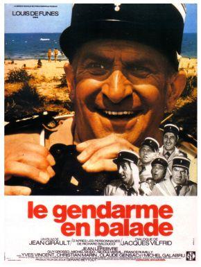 Jaquette dvd Le Gendarme En Balade