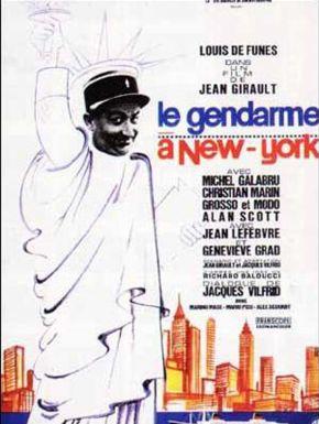 Jaquette dvd Le Gendarme à New York