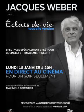 DVD Jacques Weber – Eclats De Vie