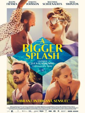 A Bigger Splash DVD et Blu-Ray