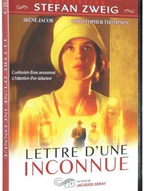 sortie dvd  Lettre D'une Inconnue