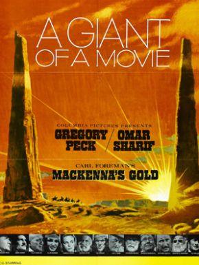 L'Or De MacKenna DVD et Blu-Ray
