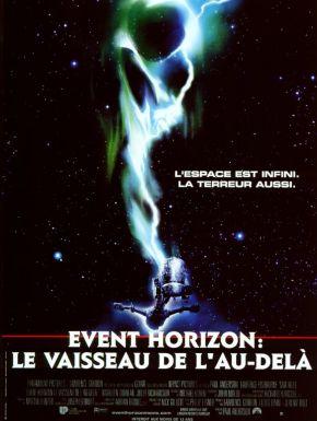Jaquette dvd Event Horizon: Le Vaisseau De L'au-dela