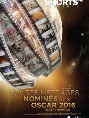 DVD Courts Aux Oscars - Animation