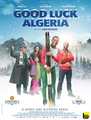 Jaquette dvd Good Luck Algeria