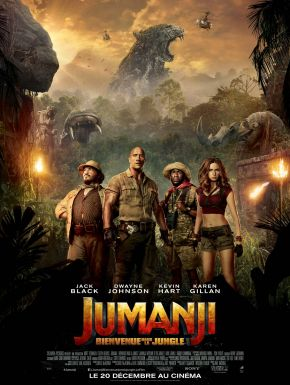 DVD Jumanji : Bienvenue Dans La Jungle