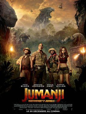 Jaquette dvd Jumanji : Bienvenue Dans La Jungle