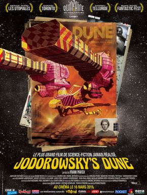Jaquette dvd Jodorowsky's Dune