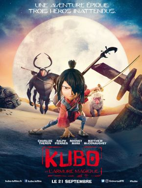 DVD Kubo et l'Armure Magique