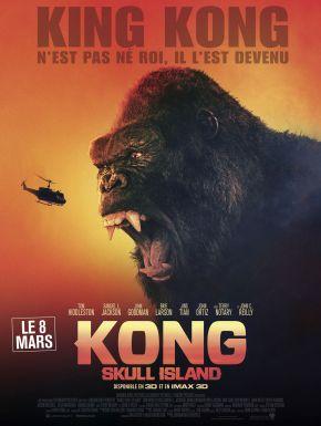 sortie dvd  Kong : Skull Island