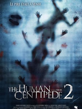 Jaquette dvd The Human Centipede 2