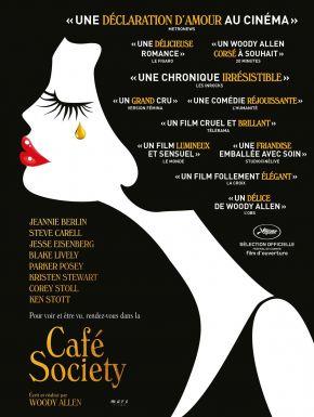 Café Society DVD et Blu-Ray