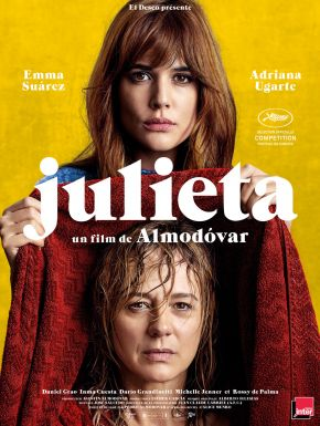 Julieta DVD et Blu-Ray