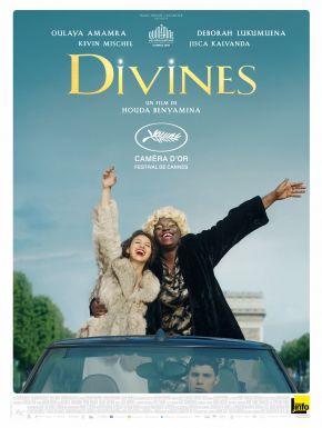 Jaquette dvd Divines