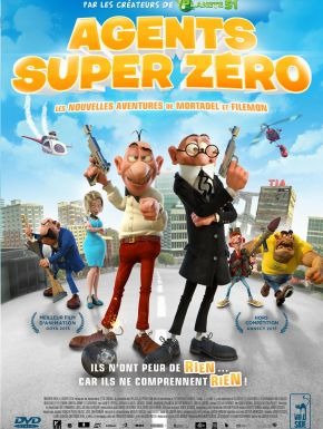Agents Super Zero DVD et Blu-Ray