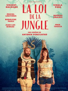Jaquette dvd La Loi De La Jungle