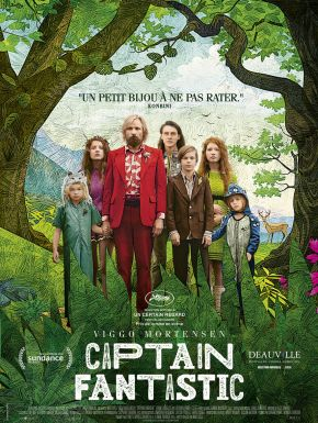 Jaquette dvd Captain Fantastic