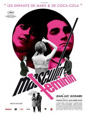 Masculin, Féminin DVD et Blu-Ray