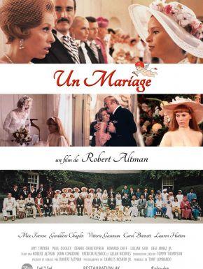 Un Mariage DVD et Blu-Ray