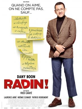 Jaquette dvd Radin !