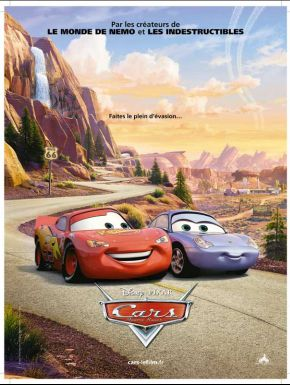 Jaquette dvd Cars