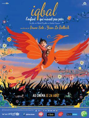 Jaquette dvd Iqbal, L'enfant Qui N'avait Pas Peur