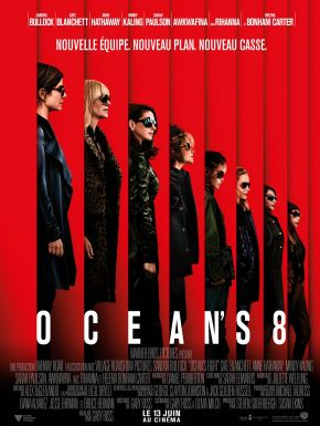 Ocean's Eight DVD et Blu-Ray