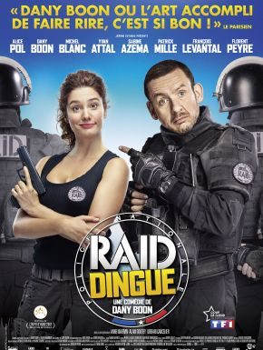 Raid Dingue DVD et Blu-Ray