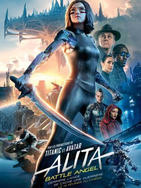 Jaquette dvd Alita: Battle Angel