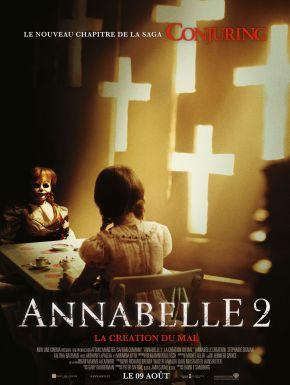 Jaquette dvd Annabelle 2 : La Création Du Mal