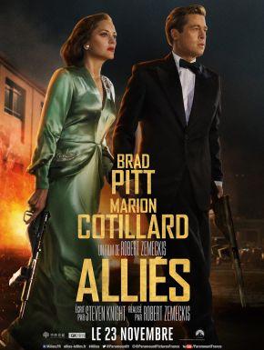 Alliés DVD et Blu-Ray
