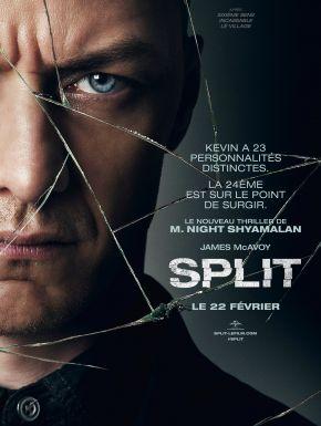sortie dvd  Split