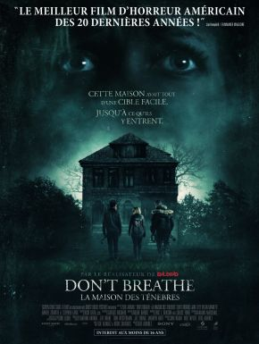 DVD Don't Breathe - La Maison Des Ténèbres
