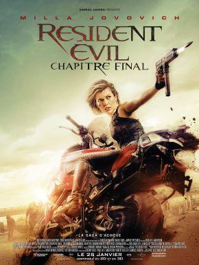 Resident Evil - Chapitre Final DVD et Blu-Ray