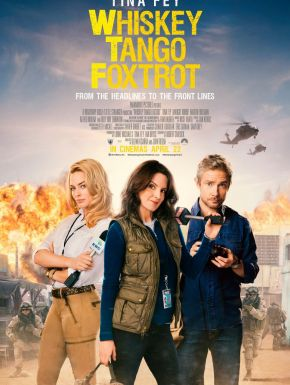 Jaquette dvd Whiskey Tango Foxtrot