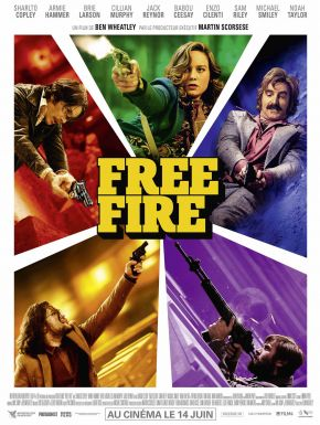 Free Fire DVD et Blu-Ray