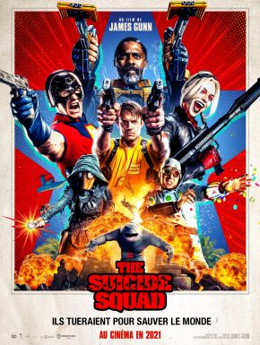 sortie dvd  Suicide Squad 2