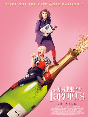 Jaquette dvd Absolutely Fabulous: The Movie